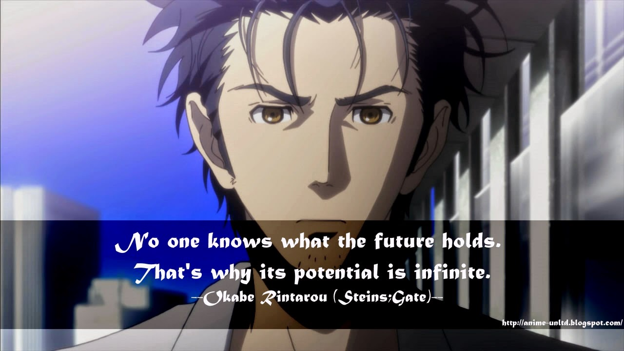 Anime Steins Gate Quotes