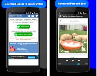 download a facebook video android