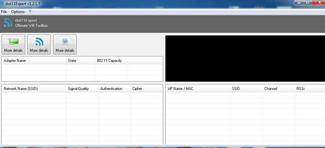 أفضل برنامج لإصلاح مشاكل الواي فاي والاتصال بالانترنت dot11Expert