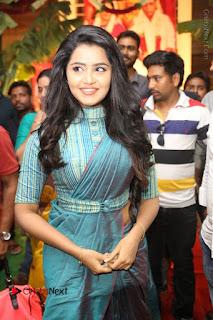 Actress Anupama Parameswaran Stills in Stylish Saree at Shatamanam Bhavathi Audio Launch  0016.JPG