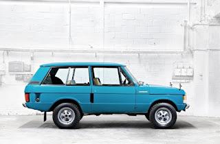 1970 Range Rover Classic 2 Door Side
