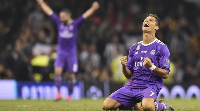 Cristiano Ronaldo Raih Gelar Top Skor Liga Champions 2017
