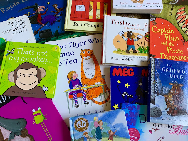 A selection of great children's bedtime story books