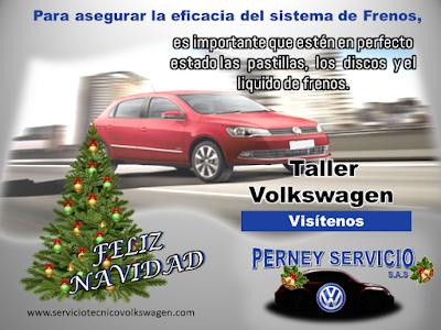 Mantenimiento Frenos Volkswagen en Bogota