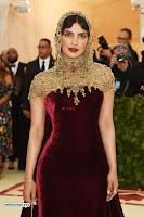 Priyanka Chopra in Maroon Velvet Gown at 2018 MET Costume Insute Gala ~  Exclusive 07.jpg