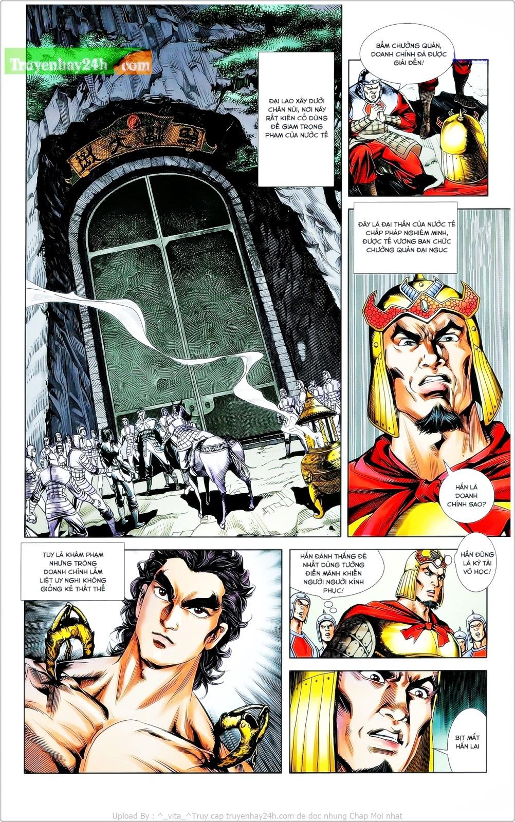 Tần Vương Doanh Chính chapter 24 trang 17