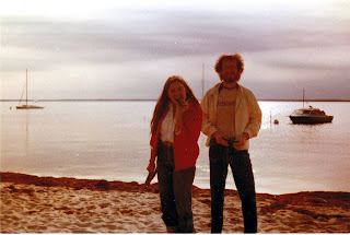 Dorinda Dercar and Doug Smith on the Beach