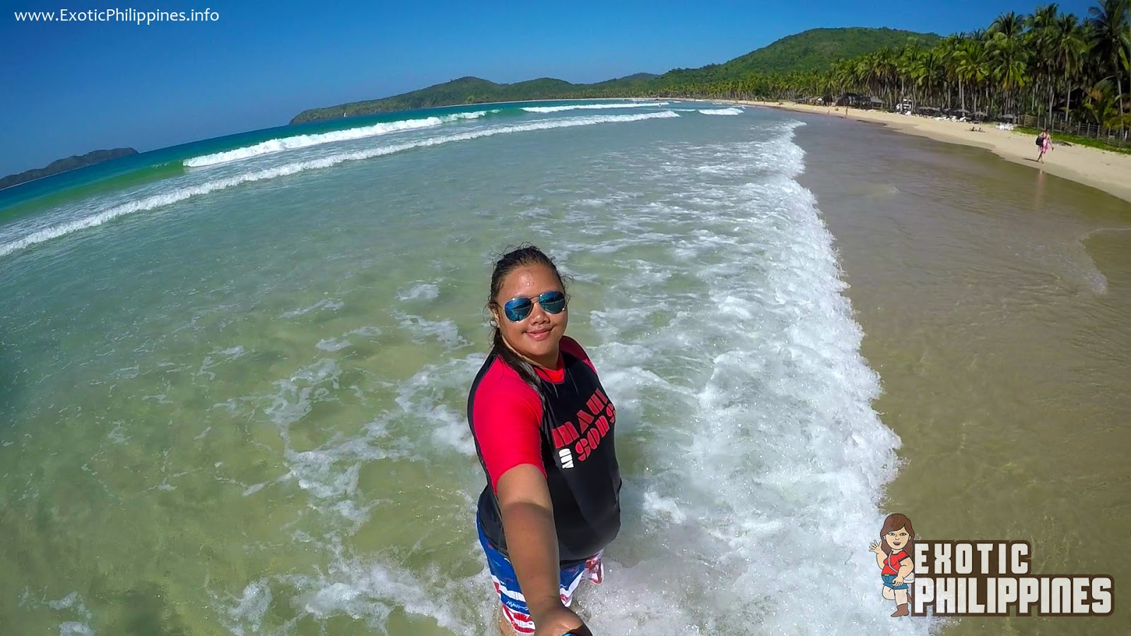Nacpan Beach and Calitang Beach El Nido Twin Beach Palawan Exotic Philippines Travel Blogger Blog Vlogger
