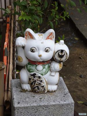 高津宮招き猫
