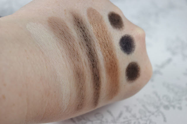 Bobbi Brown Chocolate Palette Swatches