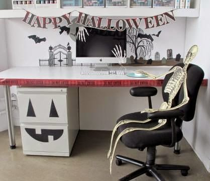 Is Only A Few Days Away And It S Never Too Late To Decorate Adding Some Festive Pumpkins Ghosts Bats Your Office Nal An