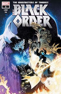 """Cómic: """"The Black Order"""" el próximo cómic de Los Hijos de Thanos"""