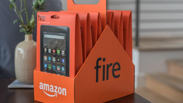 "Amazon Fire Tablet 7"" Display, 8GB"