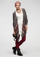 Jachetă tricotată super trendy