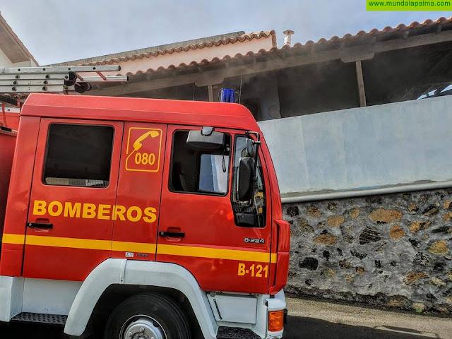 Incendio en una vivienda de Los Llanos de Aridane
