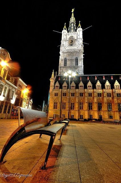 10 Best Places to Holiday in Belgium (100+ Photos) | Bell Tower, Ghent, Belgium