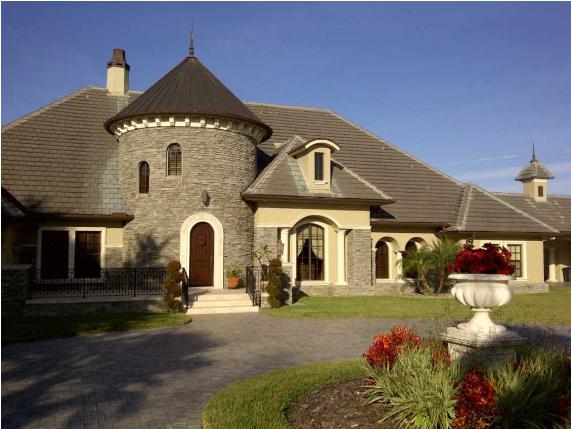 Desain Rumah Gaya Eropa