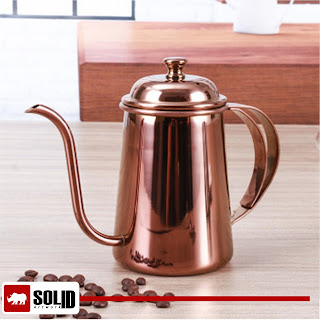 Spout Kettle Thicken  copper Drip