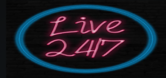 Live 24/7