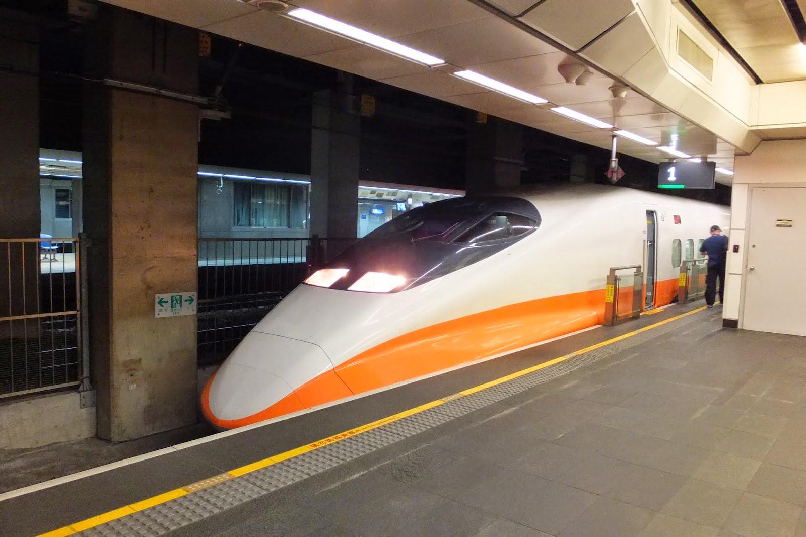 THSR platform 台湾新幹線ホーム