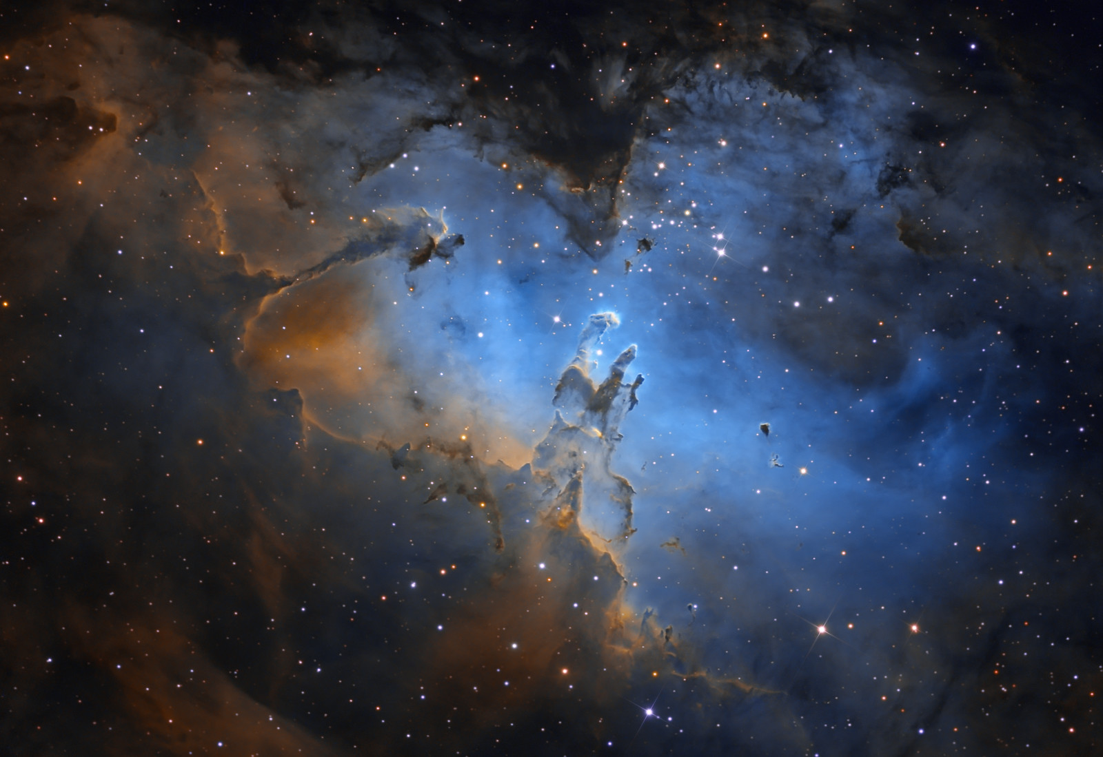 nasa nebula stars blue - photo #37