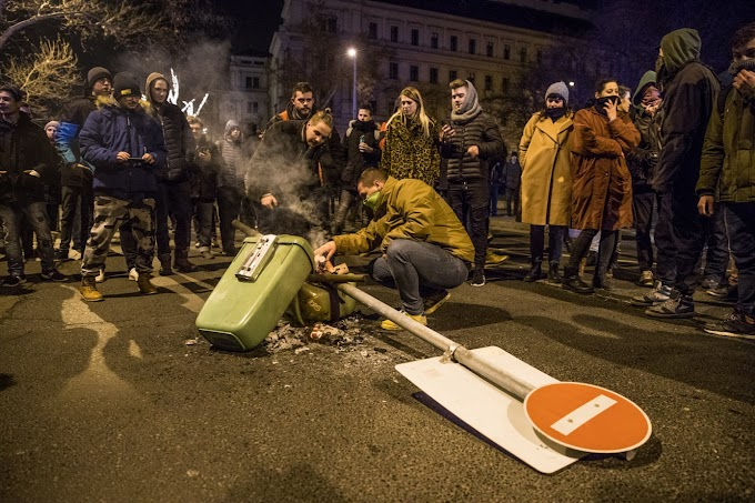Kiderült, hogy minden második tüntető, akit őrizetbe vettek, bűnöző