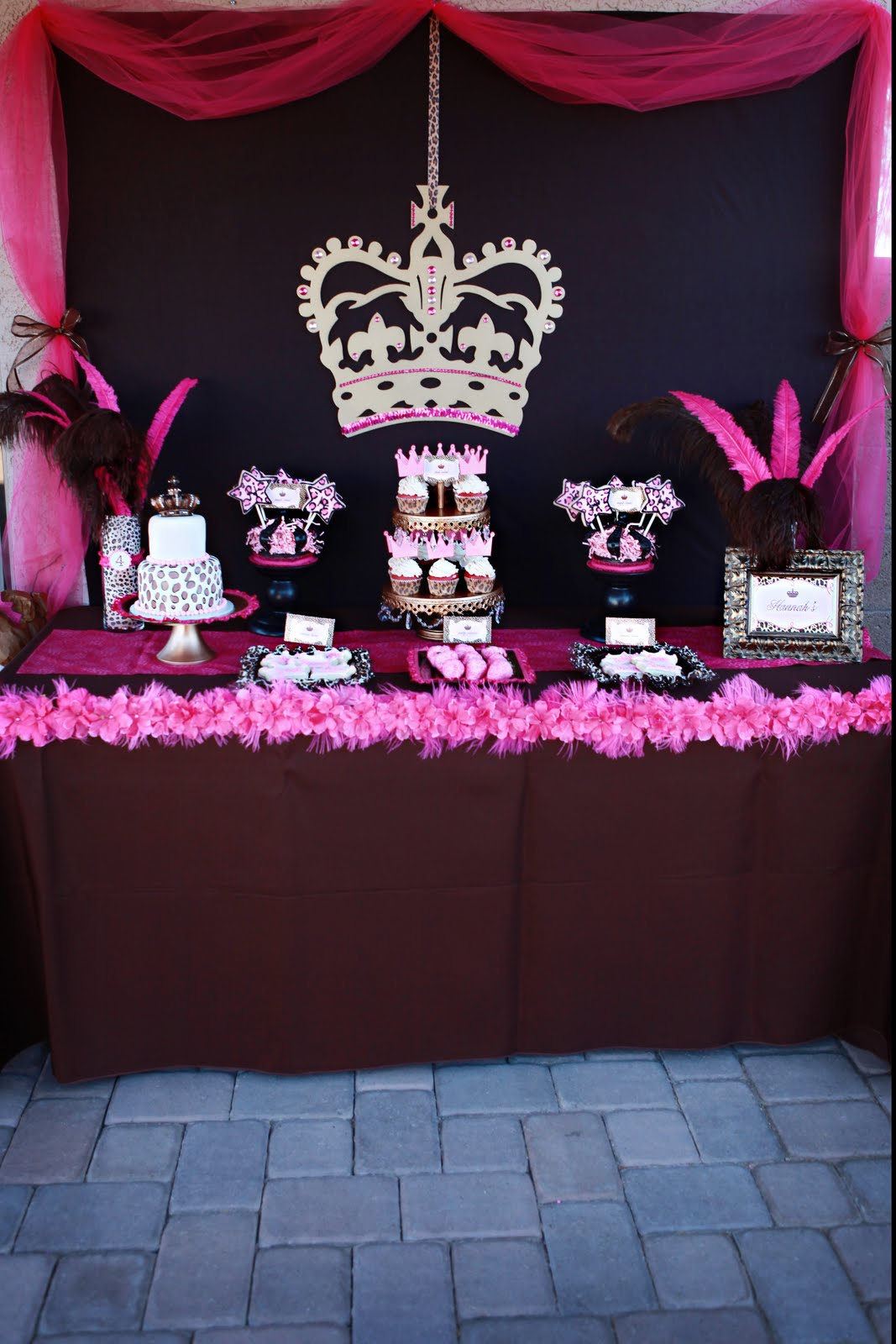 Leopard Princess Party Style With Nancy
