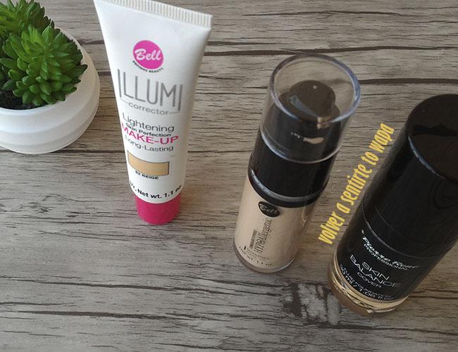 Base de Maquillaje hypoallergenic de Bell y Skin Balance de Pierre René