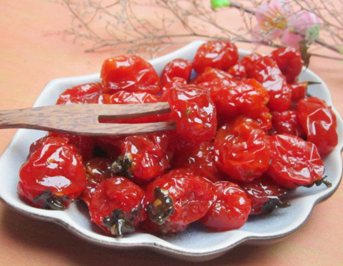 Ô mai cà chua