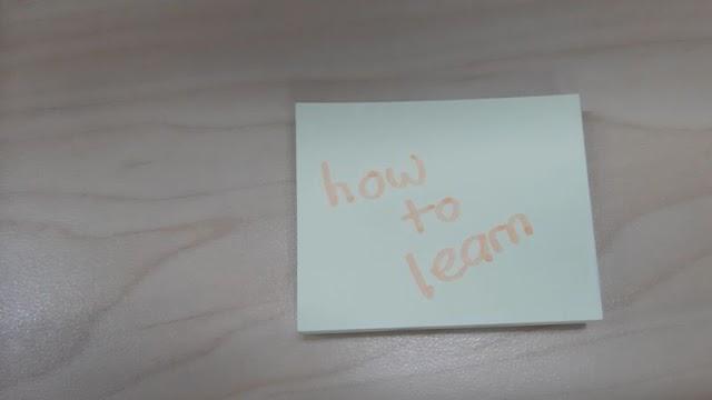 Sekadar Saran dalam Belajar