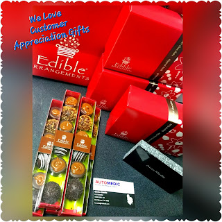 AutoMedic Edible Arrangement Appreciation Gift