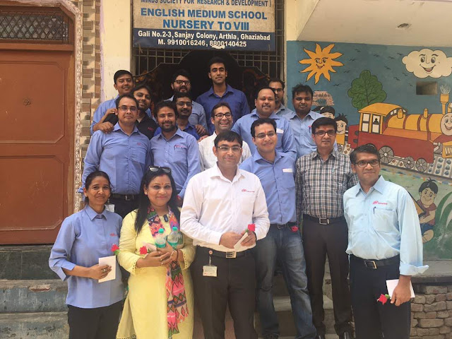 Ingersoll Rand and Smile Foundation launch Mission Education Centre for underprivileged children in Sahibabad