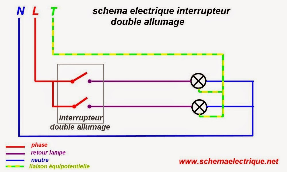schema branchement cablage interrupteur allumage double arduino schema electronique a base de. Black Bedroom Furniture Sets. Home Design Ideas