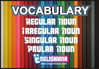 Kata Benda Tunggal dan Jamak dalam Bentuk Regular dan Irregular Noun dalam Bahasa Inggris (Vocabulary)