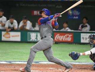 キューバ代表、ジュリスベル・グラシアルがソフトバンクホークスと契約