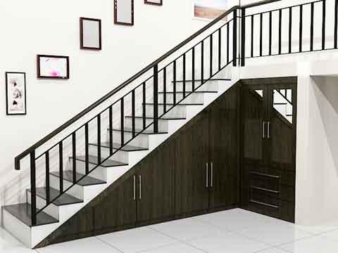 macam macam model tangga rumah minimalis