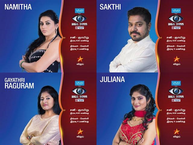 Meet Bigg Boss Tamil 15 Contestants