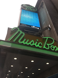 Facade of Music Box Theater