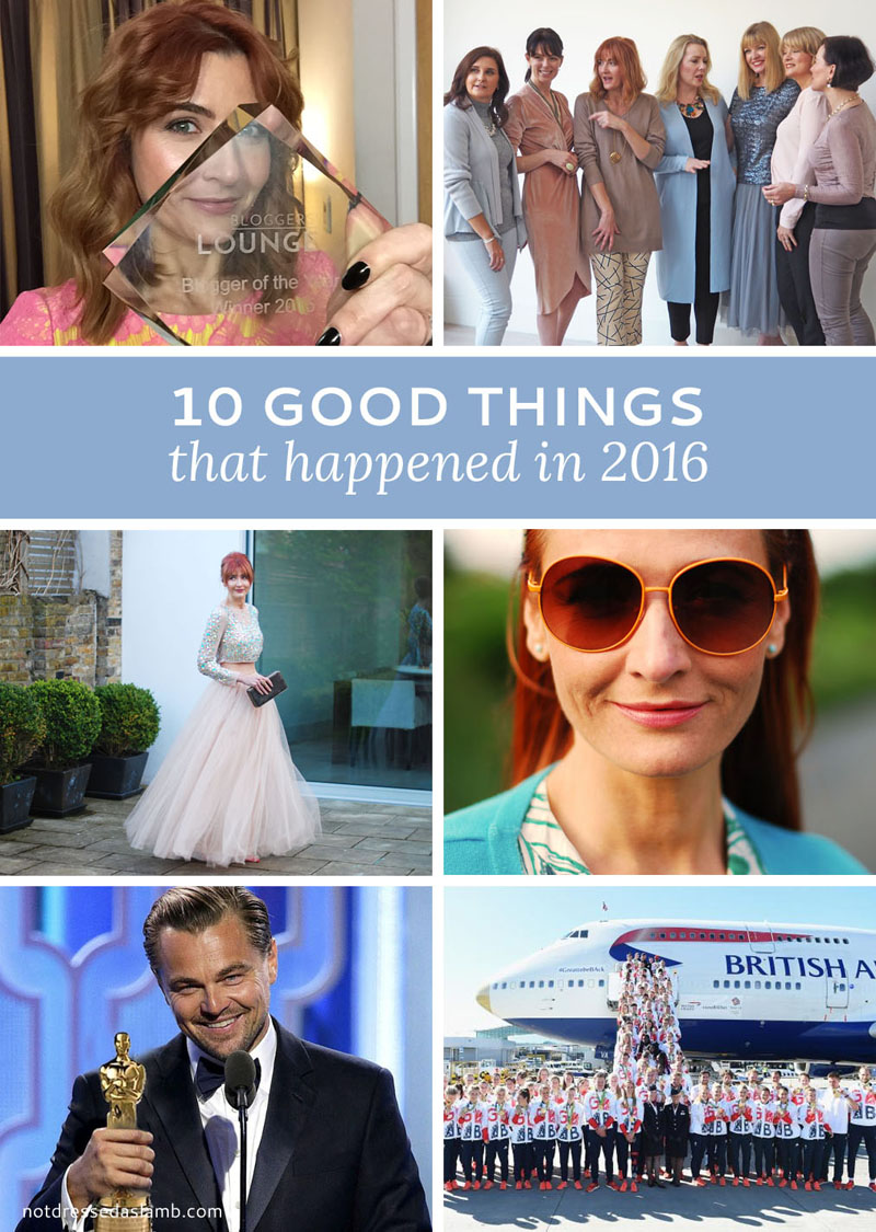 Sharing 10 Good Things That Happened in 2016