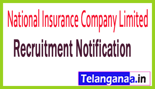 National Insurance Company Limited NICL Recruitment Notification