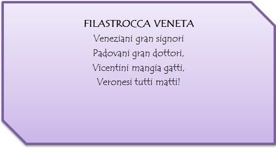Poesie Di Natale Venete.Filastrocca Veneta