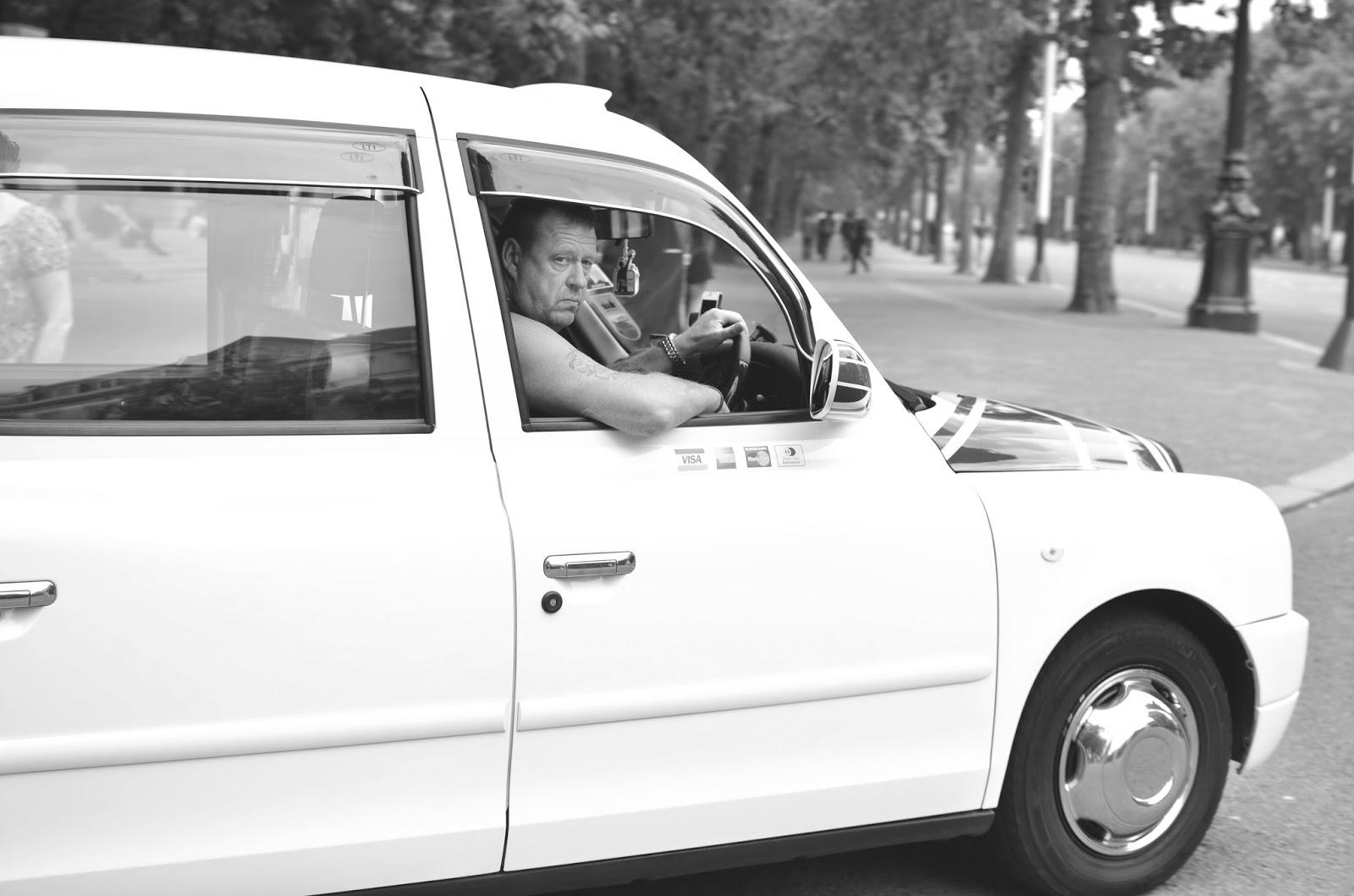 london, glasgow photographer, scottish photographer, photography, london, london cabbie, iconic, black and white photography,
