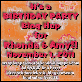 Birthday Party Blog Hop