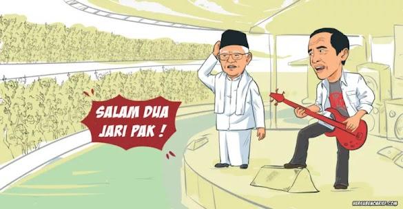 Konser Musik GBK, Resep Obat Sakit Kepala untuk Jokowi