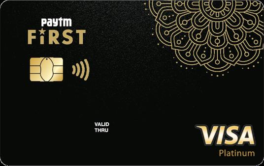 Paytm First Credit Card - पेटीएम पहला क्रेडिट कार्ड - Paytm -  CSC VLE Asssistence