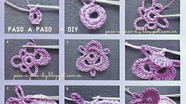 Pensamientos o Pansy al Crochet - DIY