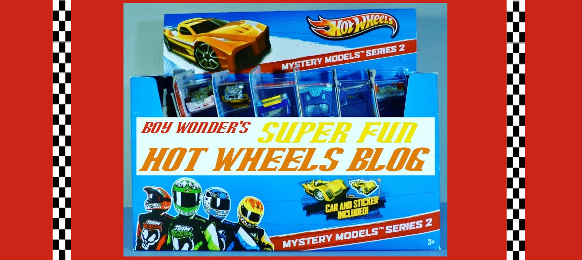 Boy Wonder's Super Fun Hot Wheels Blog