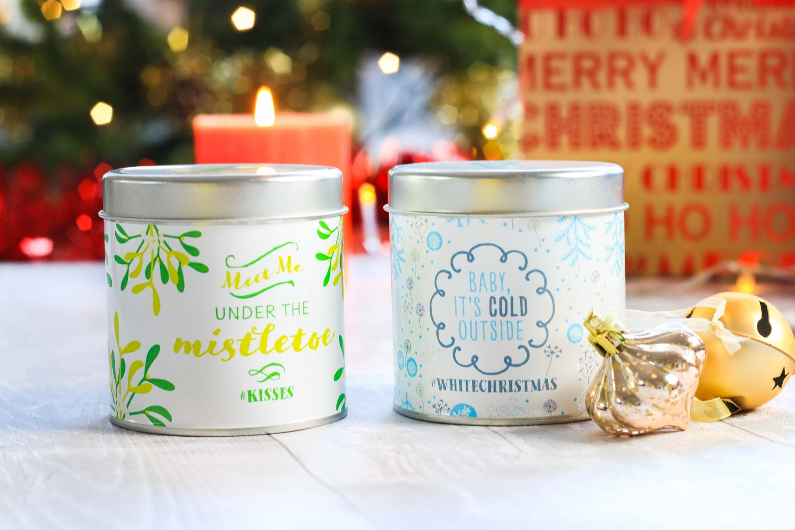 Tangy melon candles