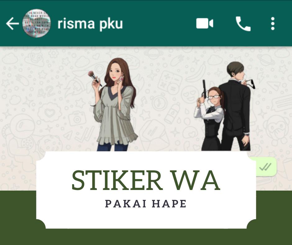 Begini Cara Mudah Membuat Stiker Whatsapp Sendiri Di Hp Kata App