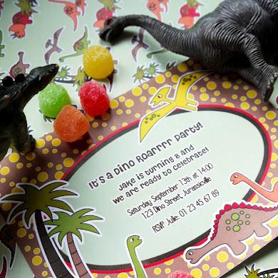 A Dinosaur 4th Birthday Party